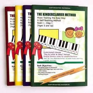 Kinderclavier Music Books