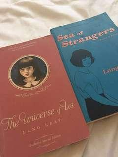The Universe of Us & Sea of Strangers by Lang Leav