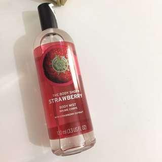 The Body Shop EDT Strabwerry
