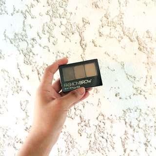 Maybelline Fashion Brow Palette (Shade: Dark Brown)