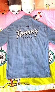 Brand New Tommy Hilfiger Jeans Demin Shirt.