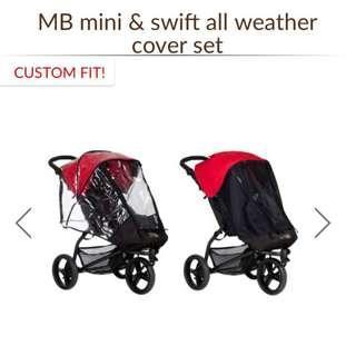 Mountain Buggy Mini/Swift Mesh and Rain Cover