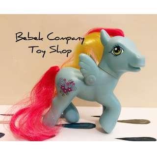 藍色飛馬 2004 Hasbro My Little Pony MLP G3 古董玩具 我的彩虹小馬 第三代 彩虹小馬