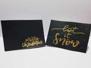 Christmas cards pt.2