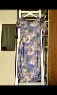 SALE - Berrybenka midi dress purple