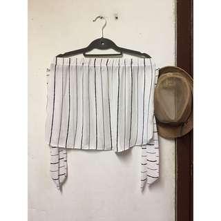 Stripes offshoulder