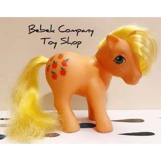 古董玩具 1983年 蘋果 🍎Hasbro My Little Pony MLP G1 我的彩虹小馬 第一代 絕版玩具