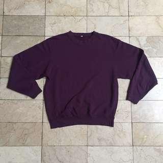 Uniqlo Purple Crewneck