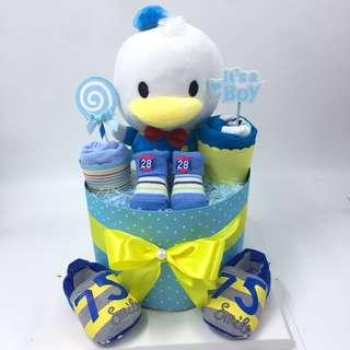Donald Duck Tsum Tsum Diapers Cake