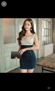 short mini dress tight fit