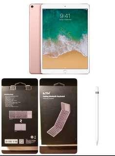 2018年10月尾購入 包apple pen 藍牙鍵盤 ipad pro 10.5 吋 256GB