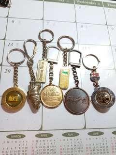 懷舊鎖匙扣一堆