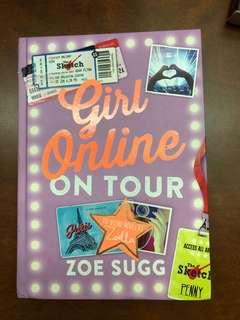 Girl Online On Tour by Zoe Sugg(the second novel)