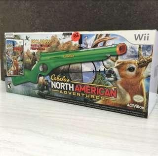 Wii Game - Cabela's North American Adventures with Gun