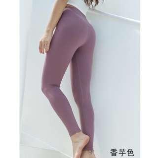 🚚 高腰瑜珈健身褲女提臀運動褲緊身高腰壓力褲