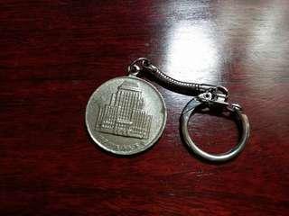70年代~匯豐銀行~紅屋仔鎖匙扣