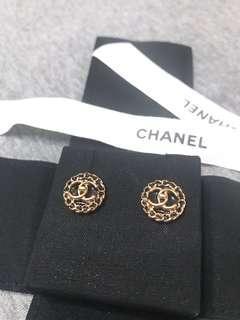 🚚 chanel 耳針式耳環
