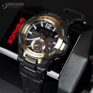 🚚 2018 Latest Release Gravitymaster Master of G Gold GRB100 GRB100GB Bluetooth with FREE DELIVERY 📦 G-Shock