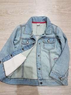 🚚 Carter's兒童薄版柔軟牛仔夾克/牛仔外套-4t