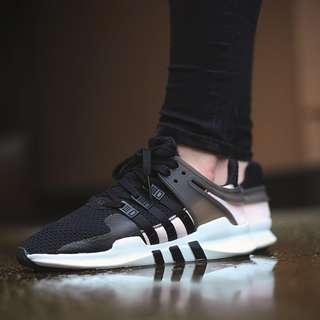 (PO) Adidas Womens EQT Support Adv Black Peach