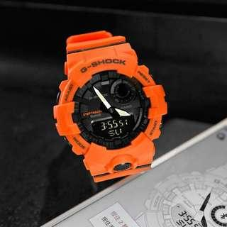🚚 Orange Rescue GBA800 Step Tracker with Bluetooth 100% Authentic Casio Gshock with FREE DELIVERY 📦 G-Shock