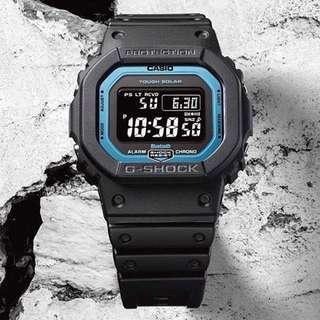 🚚 FREE DELIVERY Brand New 100% Authentic Casio Gshock GWB5600 Bluetooth Blue Dial with FREE DELIVERY 📦