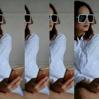 NEW ARRIVAL  Big Frame Square Sunglasses
