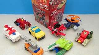 McD Vintage Transformers Armada Happy Meal