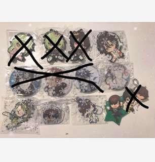 Amnesia/K project/Utapri/bungou stray dogs