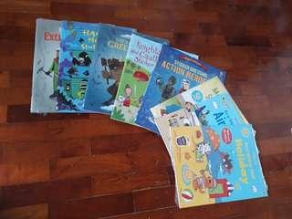 8pcs BNIP Usborne Activity Sticker Children Books