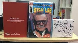 Stan Lee Set Of 3 Figures from Hot Toys, Das Toyz & Marvel Legends - Brand New & Sealed