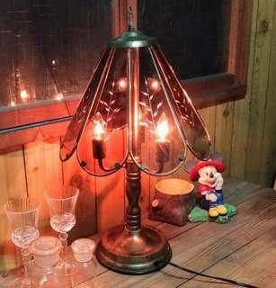古典造型觸控檯燈—古物舊貨、早期燈飾收藏