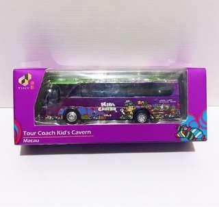 全新未拆 已選好QC Tiny 微影 澳門限定 Kid's Cavern 兒童世界 旅遊 巴士 Tour Coach