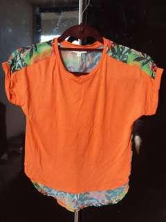Blue Zoo Orange Top for Girls