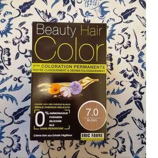 Beauty Hair Colour (Permanent Hair Dye) by Eric Favre - Blond 7.0