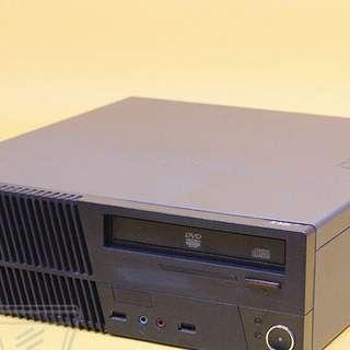 i5三代四核心 超特價 Lenovo M72e SFF i5三代四核心CPU/500G硬碟/WIN7 平躺式原廠機 CP值超高