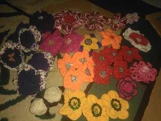 Bros bunga kain perca