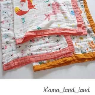 Lovely baby / kid cotton gauze towel