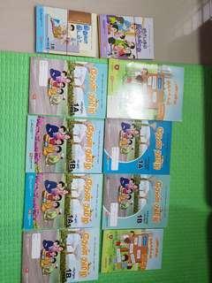 Primary 1 New Tamil Textbooks and Workbooks