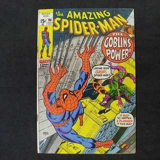 amazing Spider-Man #98 (1971) anti-drug issue *** The Goblin's Last Gasp! *** Marvel Comics / Bronze Age