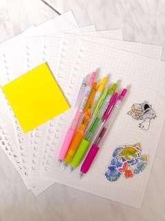 basic study starter pack🔥😋 (price reduced!!)