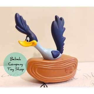 2010年 Warner bros WB looney tunes road runner 華納 樂一通 嗶嗶鳥 玩具