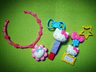 Hello Kitty Accessories Happy Meal Set (3 in 1)