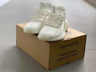 US 11.5 Yeezy Cream White with Receipt.