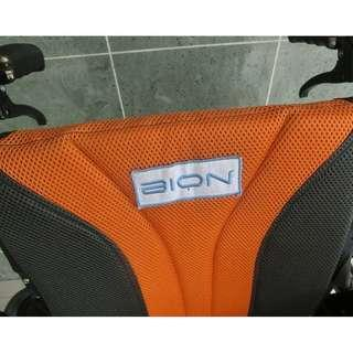 SE;LLING  AT ROCK BOTTOM PRICE BECAUSE I NEED THE SPACE FOR MT SCOOTER, DONT MISS OUT, ONCE IN A LIFETIME BRAND NEW BION WHEELCHAIR WITH ALUMINUM FRAME,ULTRA LIGHT WEIGHT!