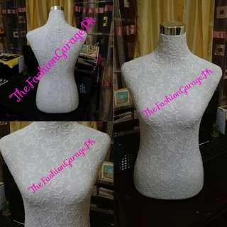 Lace Cover Dress Fitting Form Mannequins