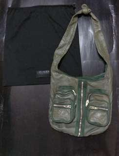Alexander wang墨綠色型格斜咩袋crossbody bags