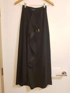 Forever New Long Wrap Skirt