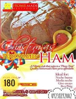 Homemade Christmas Ham