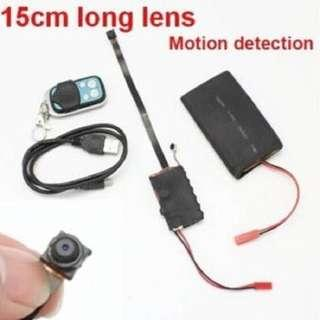 Mini HD spy camera with remote control